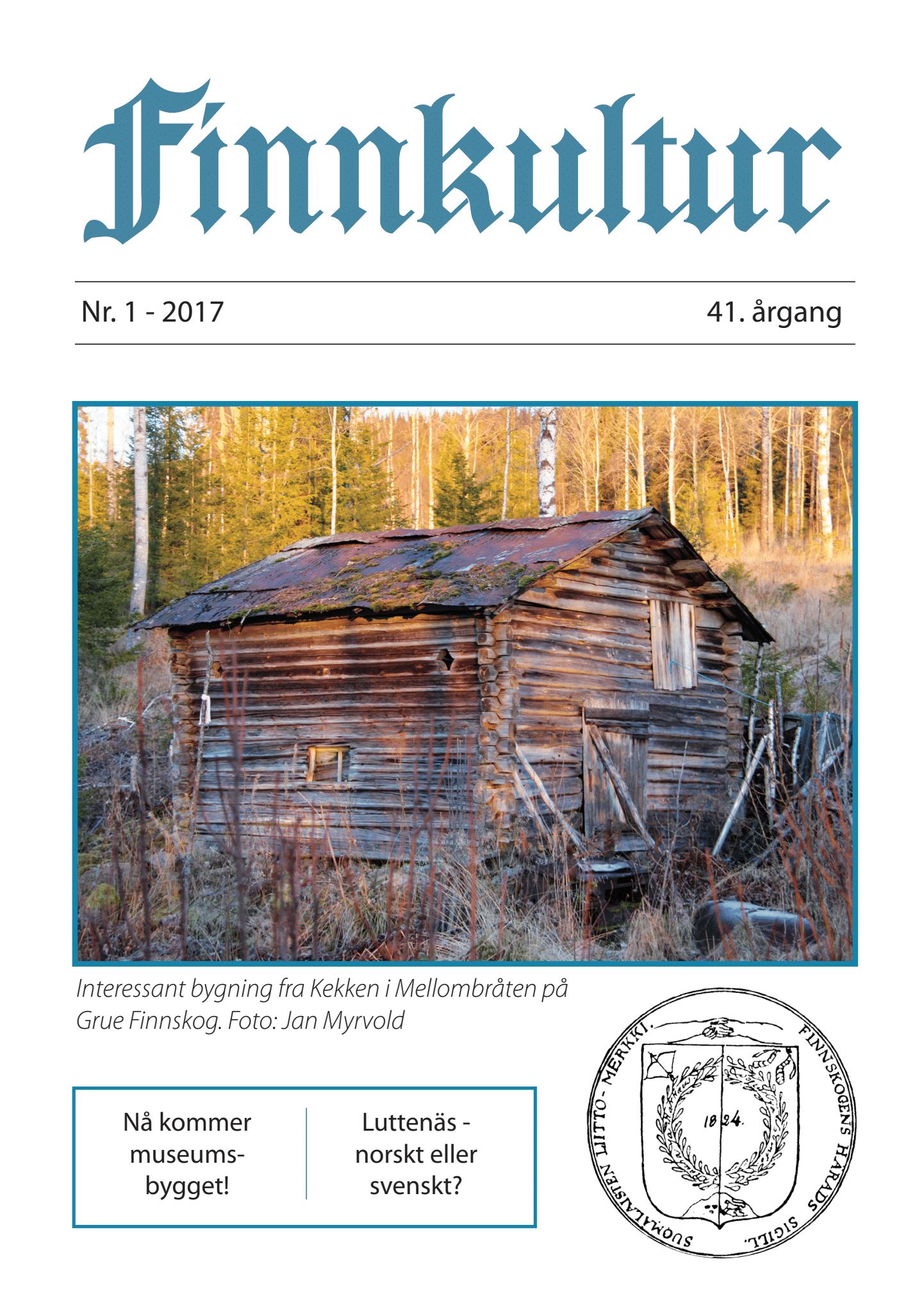 2017 Finnkultur nr 1