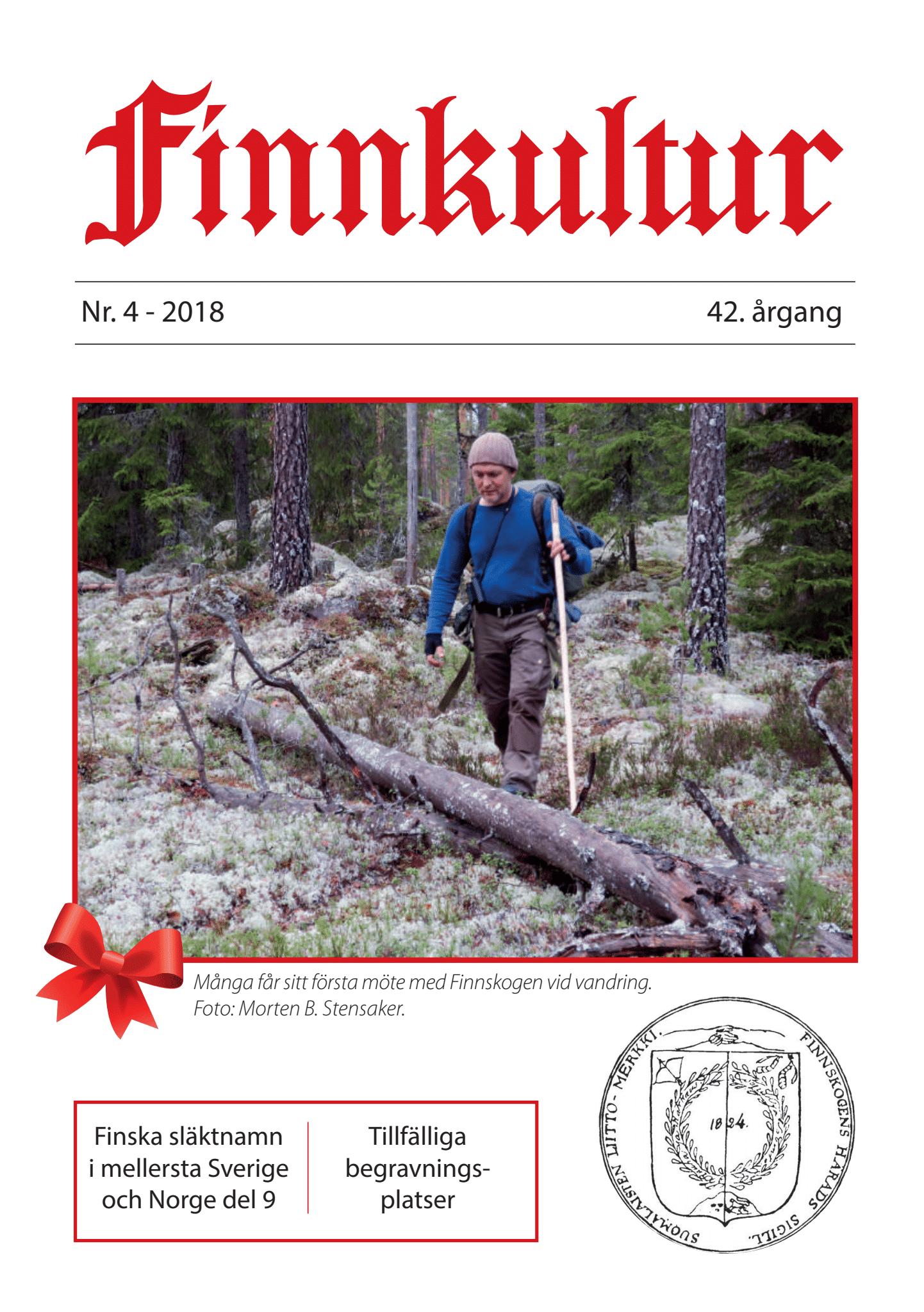 2018 Finnkultur nr. 4