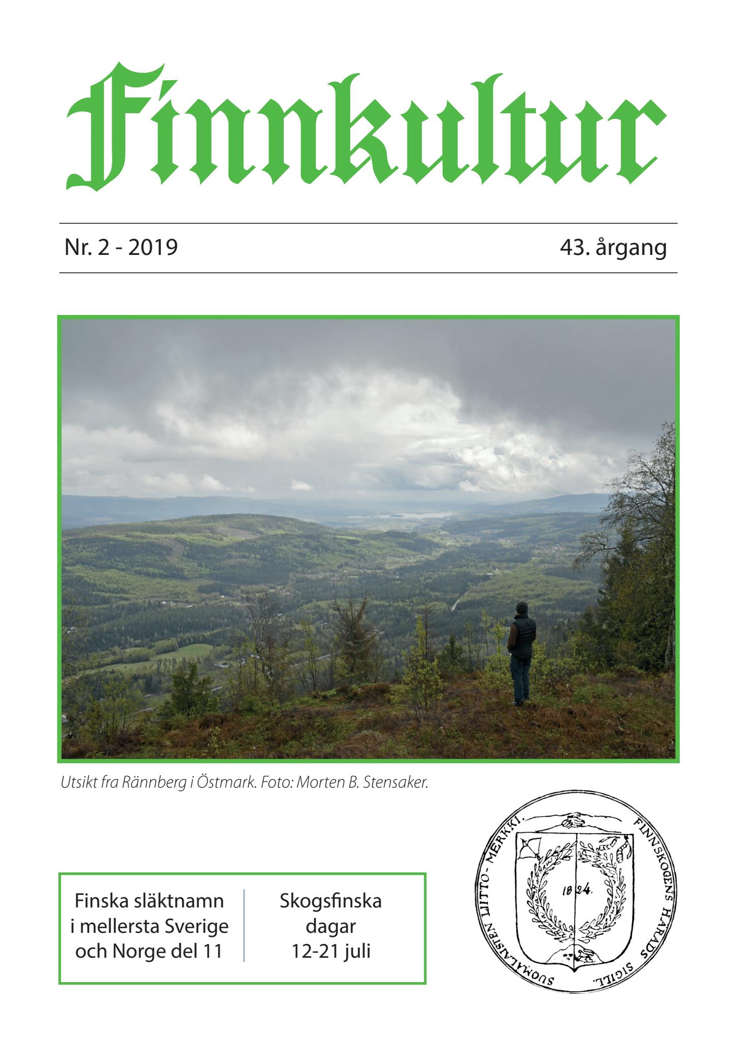 2019 Finnkultur nr 2