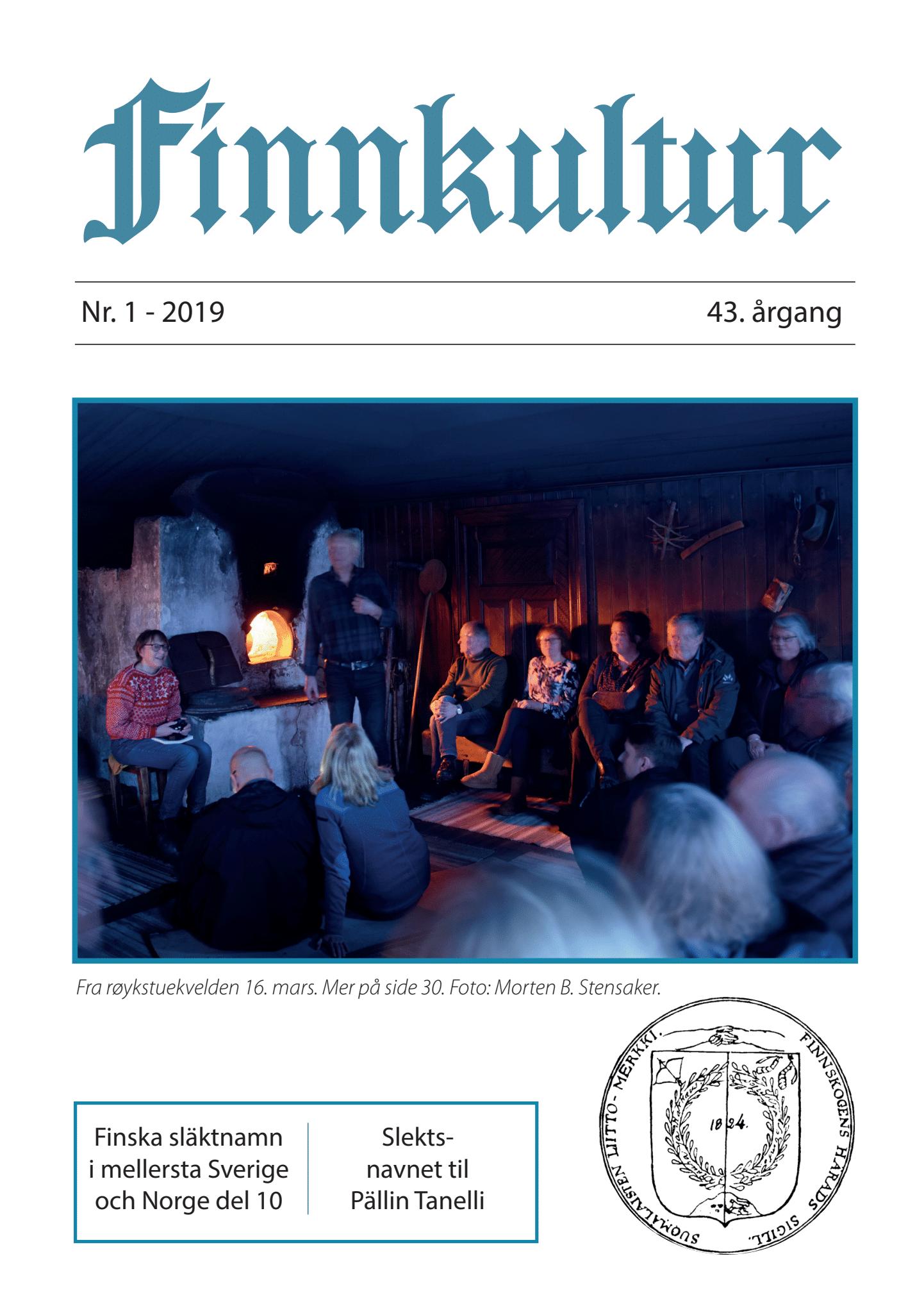 2019 Finnkultur nr. 1